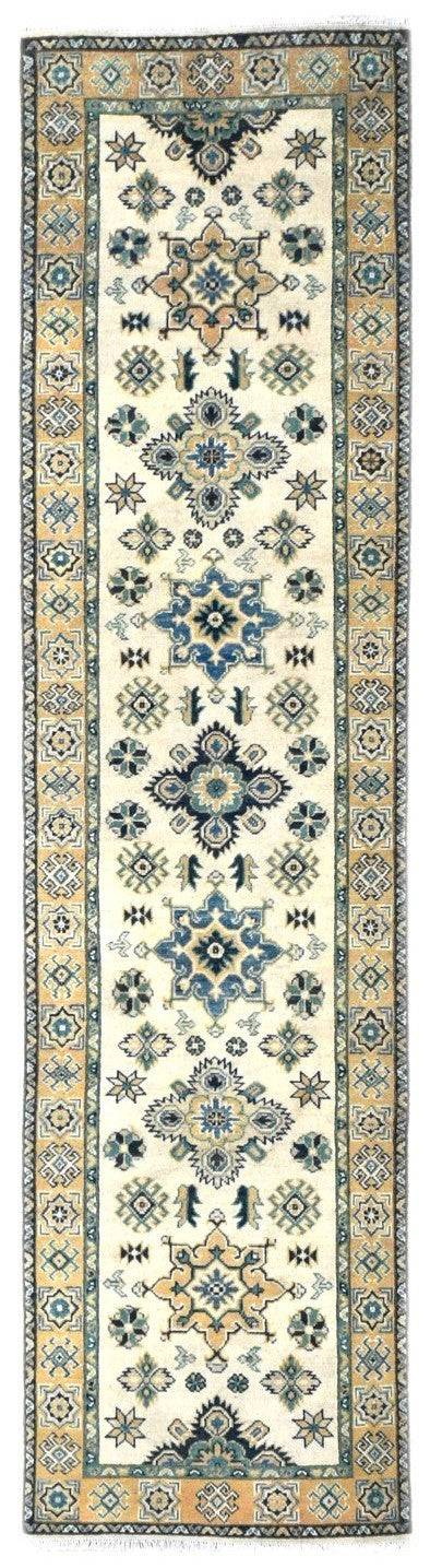 Handmade Sultan Collection Hallway Runner | 298 x 76 cm - Najaf Rugs & Textile
