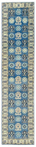 Handmade Sultan Collection Hallway Runner | 337 x 76 cm - Najaf Rugs & Textile