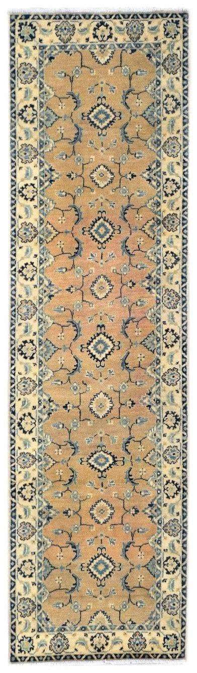 Handmade Sultan Collection Hallway Runner | 285 x 79 cm - Najaf Rugs & Textile