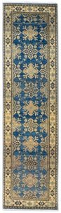 Handmade Sultan Collection Hallway Runner | 292 x 81 cm - Najaf Rugs & Textile