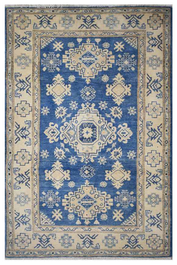 Handmade Sultan Collection Rug | 143 x 100 cm | 4'7