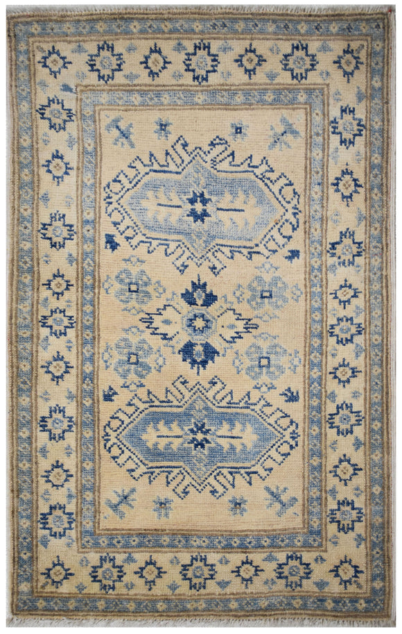 Handmade Mini Sultan Collection Rug | 97 x 60 cm | 3'18