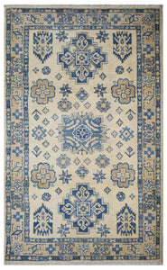 "Handmade Sultan Collection Rug | 152 x 95 cm | 4'9"" x 3'1"""