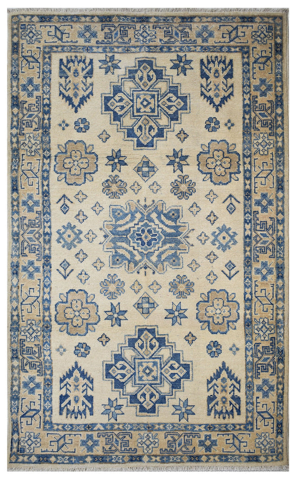 Handmade Sultan Collection Rug | 152 x 95 cm | 4'9