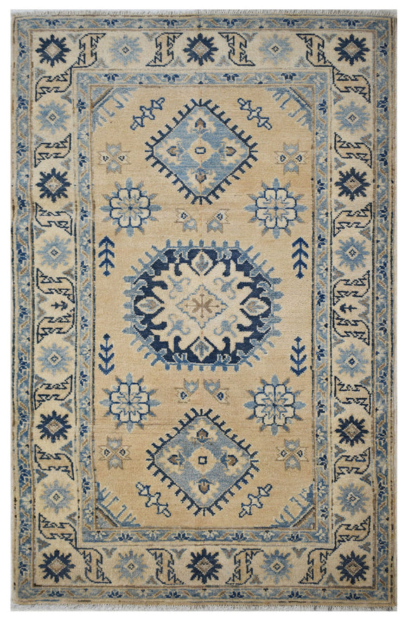 Handmade Sultan Collection Rug | 146 x 92 cm | 4'7