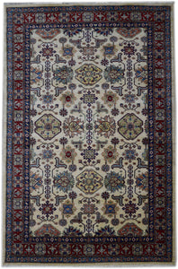 Handmade Traditional Super Kazakh Rug | 275 x 177 cm