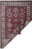 Handmade Traditional Super Kazakh Rug | 238 x 182 cm