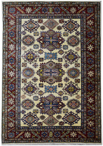 Handmade Traditional Super Kazakh Rug | 233 x 164 cm
