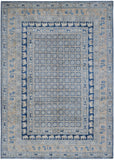 "Handmade Super Sultan Collection Rug | 344 x 240 cm | 11'4"" x 7'11"""