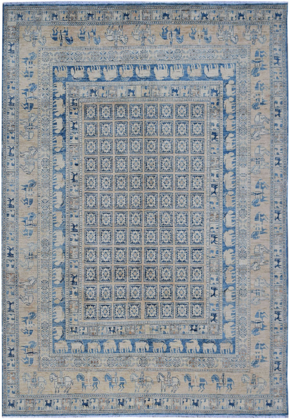 Handmade Sultan Collection Rug | 298 x 240 cm | 9'10