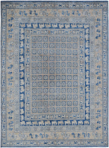 "Handmade Super Sultan Collection Rug | 293 x 241 cm | 9'8"" x 7'11"""