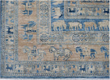 Handmade Super Sultan Collection Rug | 303 x 247 cm | 10' x 8'2""