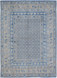 "Handmade Super Sultan Collection Rug | 293 x 240 cm | 9'8"" x 7'11"""