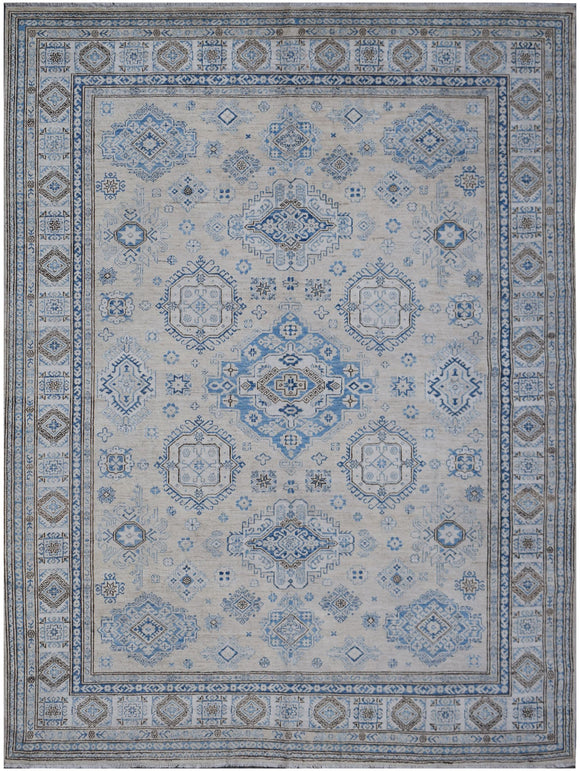 Handmade Super Sultan Collection Rug | 294 x 250 cm | 9'8