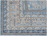 "Handmade Super Sultan Collection Rug | 367 x 266 cm | 12'1"" x 8'9"""