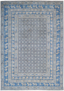 "Handmade Sultan Collection Rug | 368 x 265 cm | 12'1"" x 8'9"""