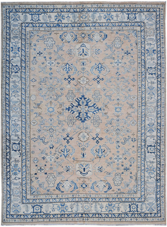 Handmade Super Sultan Collection Rug | 307 x 247 cm | 10'1