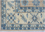 "Handmade Sultan Collection Rug | 370 x 273 cm | 12'2"" x 9'"