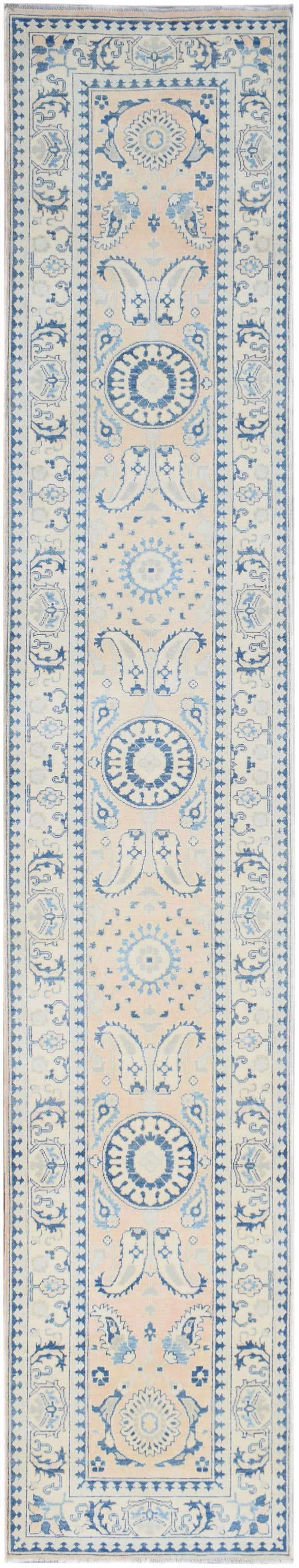 Handmade Sultan Collection Hallway Runner | 476 x 88 cm | 18'7