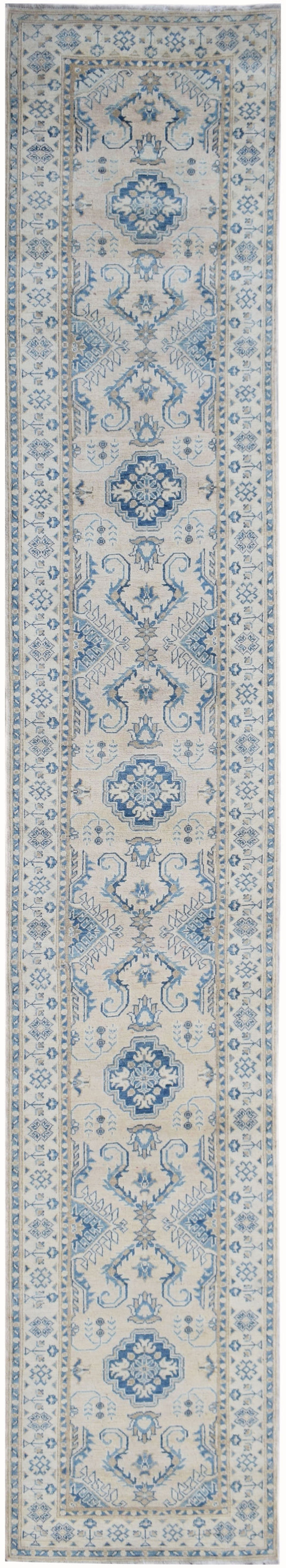 Handmade Sultan Collection Hallway Runner | 454 x 77 cm | 14'4