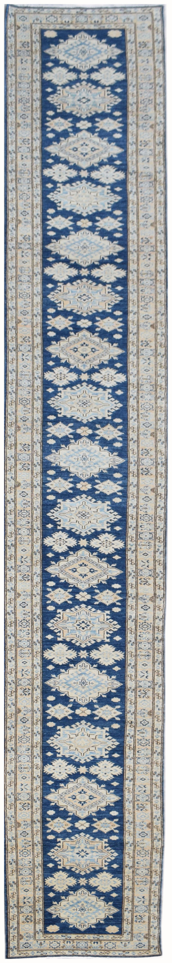 Handmade Super Sultan Collection Hallway Runner | 690 x 79 cm | 22'8