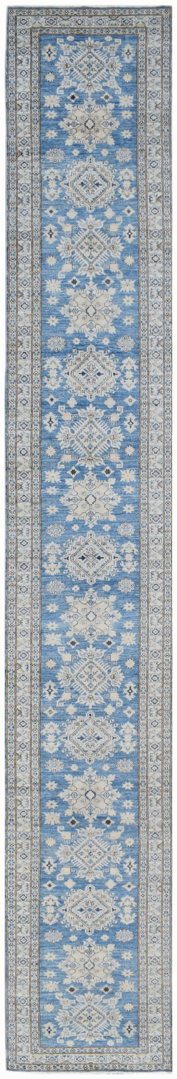 Handmade Super Sultan Collection Hallway Runner | 614 x 88 cm | 20'2