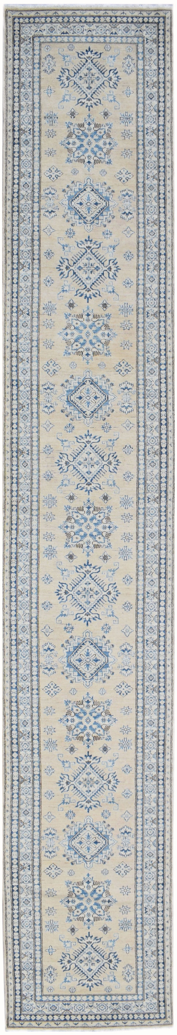 Handmade Super Sultan Collection Hallway Runner | 609 x 100 cm | 20' x 3'3