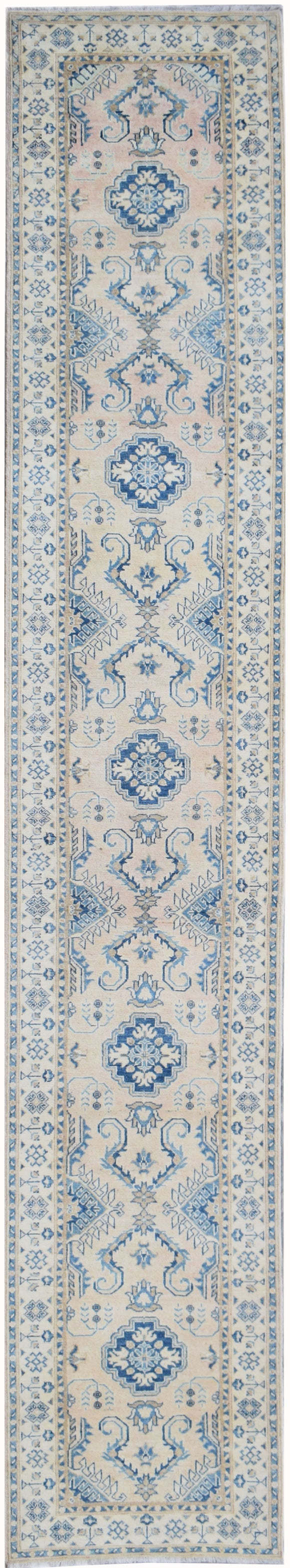 Handmade Sultan Collection Hallway Runner | 455 x 81 cm | 14'11