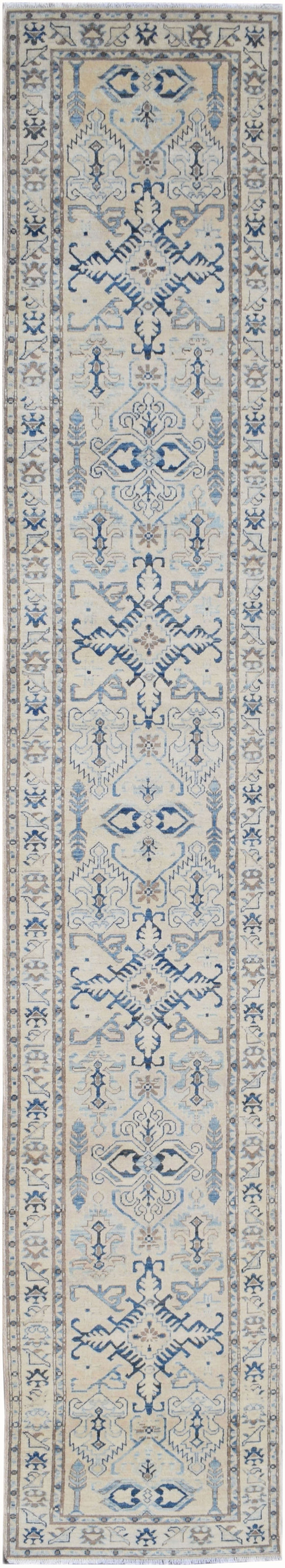 Handmade Sultan Collection Hallway Runner | 487 x 80 cm | 16' x 2'7