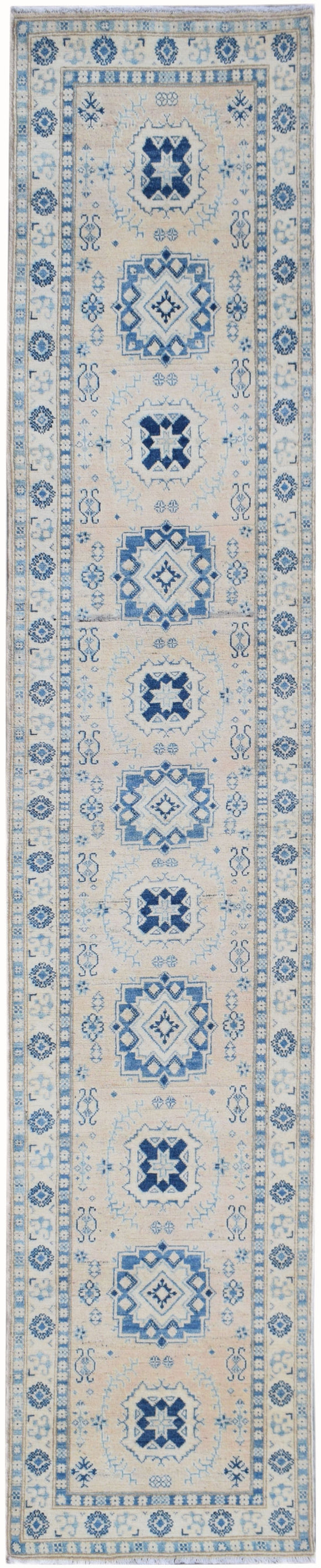 Handmade Sultan Collection Hallway Runner | 400 x 75 cm | 13'1