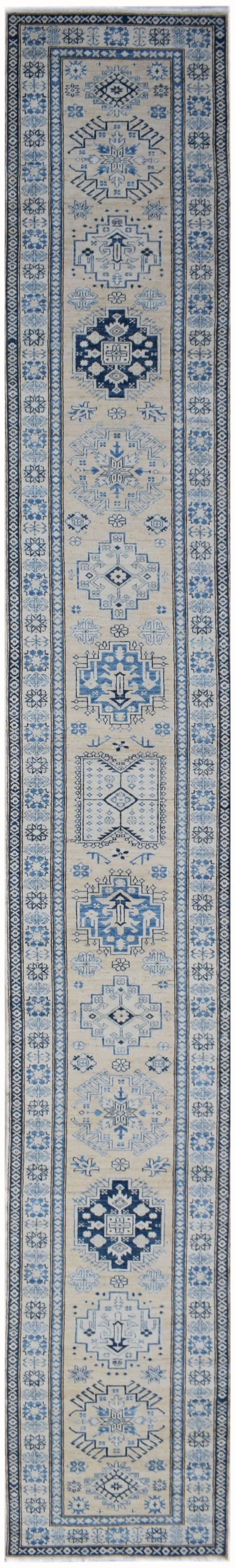 Handmade Super Sultan Collection Hallway Runner | 481 x 82 cm | 19'1