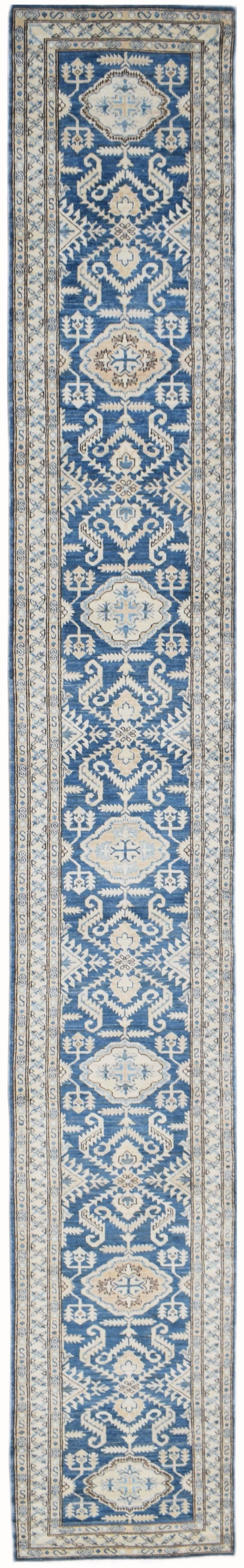Handmade Sultan Collection Hallway Runner | 528 x 73 cm | 17'4