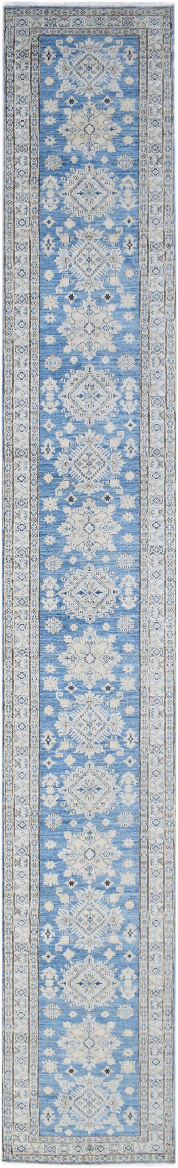 Handmade Super Sultan Collection Hallway Runner | 616 x 90 cm | 20'3