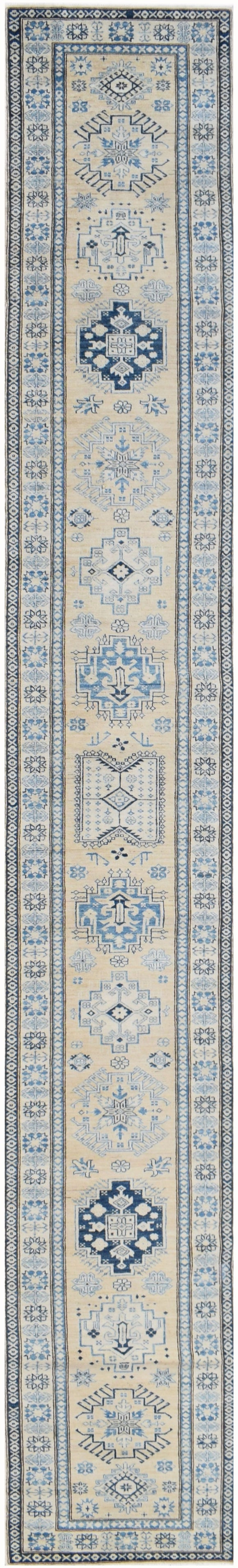 Handmade Super Sultan Collection Hallway Runner | 582 x 84 cm | 19'10