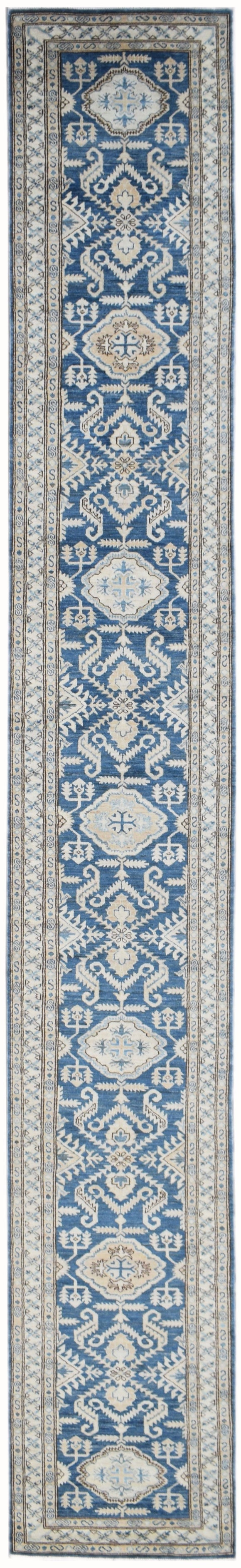 Handmade Super Sultan Collection Hallway Runner | 528 x 74 cm | 17'4
