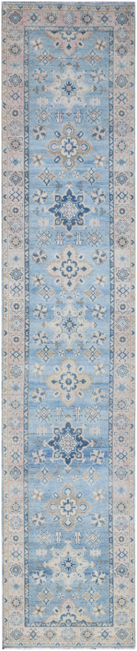 Handmade Sultan Collection Hallway Runner | 381 x 79 cm | 12'6