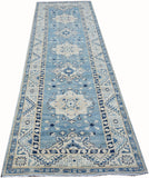 "Handmade Sultan Collection Hallway Runner | 300 x 80 cm | 9'10"" x 2'7"""