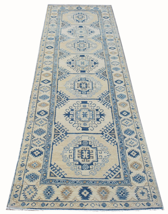 Handmade Sultan Collection Hallway Runner | 300 x 79 cm | 9'10