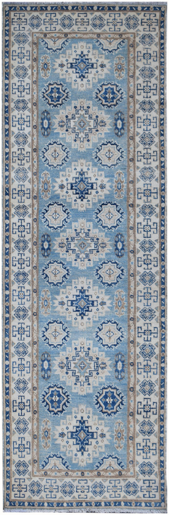 Handmade Sultan Collection Hallway Runner | 238 x 79 cm | 7'10