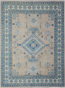 "Handmade Sultan Collection Rug | 290 x 243 cm | 9'7"" x 8'"