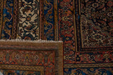 "Handmade Antique Persian Saneh Rug | 470 x 336 cm | 15'4"" x 11'"