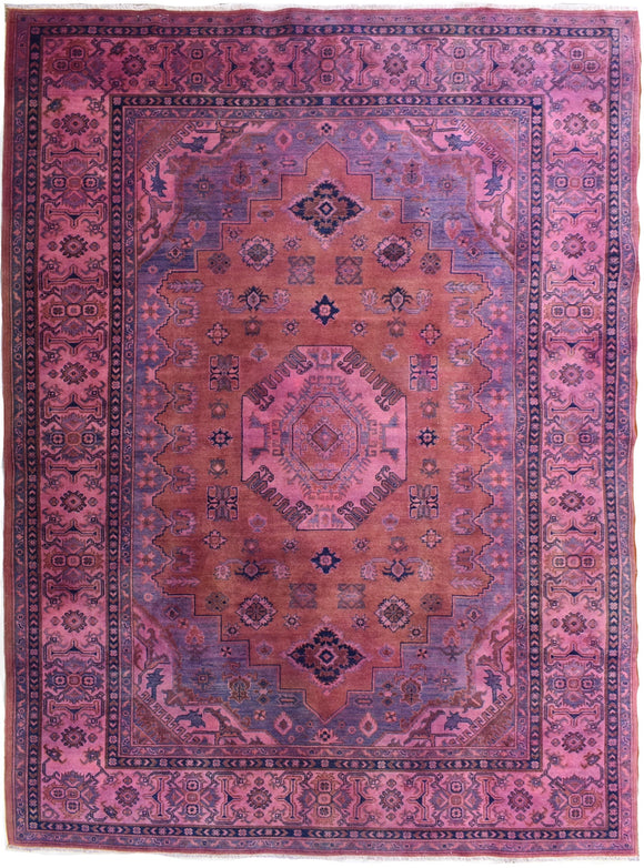 Handmade Traditional Overdyed Rug | 292 x 200 cm - Najaf Rugs & Textile