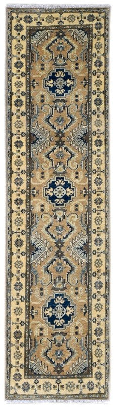 Handmade Sultan Collection Hallway Runner | 282 x 81 cm