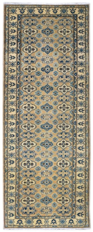 Handmade Sultan Collection Hallway Runner | 292 x 82 cm | 9'5