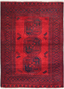 Handmade Traditional Elephant's Foot Rug | 193 x 146 cm | 6'4 x 4'10""