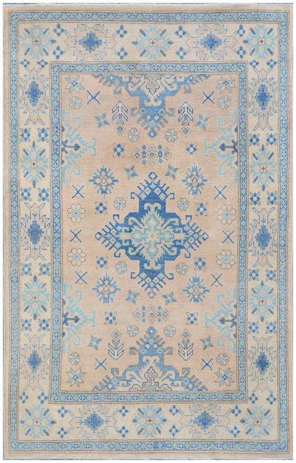 Handmade Sultan Collection Hallway Rug | 186 x 122 cm - Najaf Rugs & Textile