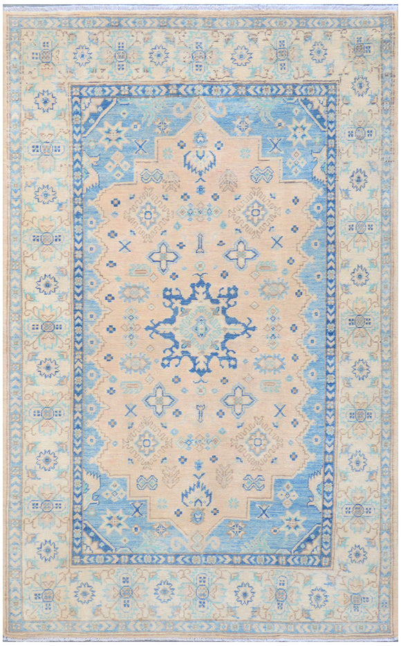 Handmade Sultan Collection Hallway Rug | 193 x 121 cm - Najaf Rugs & Textile