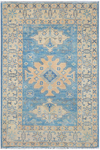 Handmade Sultan Collection Hallway Rug | 112 x 81 cm - Najaf Rugs & Textile