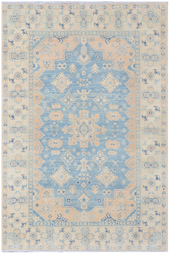 Handmade Sultan Collection Hallway Rug | 182 x 120 cm - Najaf Rugs & Textile