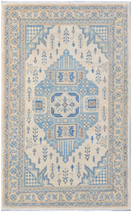 Handmade Sultan Collection Hallway Rug | 184 x 117 cm - Najaf Rugs & Textile